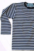 stripe t navy/white